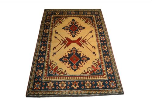 """Crafters&Weavers Oriental rug Kazak Vegetables Dyes size 3' 3""""  x 5' 4""""  # A 31"""