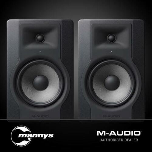 """M-Audio BX8 D3 8"""" Powered Studio Reference Monitors (Pair)"""