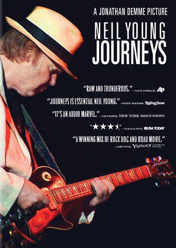 Neil Young Journeys DVD NEW