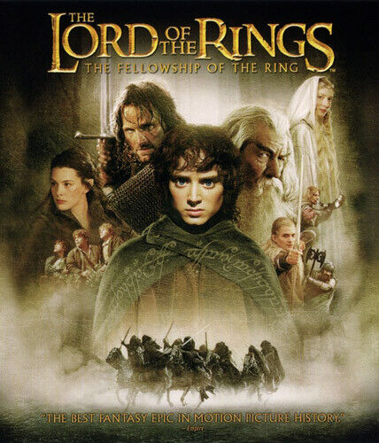 The Lord of the Rings: The Fellowship of the Ring (2 Disc, With DVD) BLU-RAY NEW