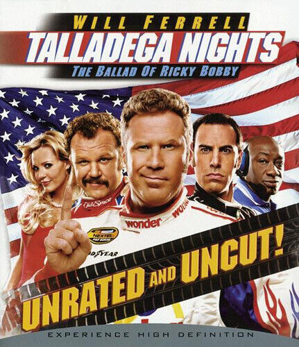 Talladega Nights: The Ballad of Ricky Bobby (Unrated Version) BLU-RAY NEW
