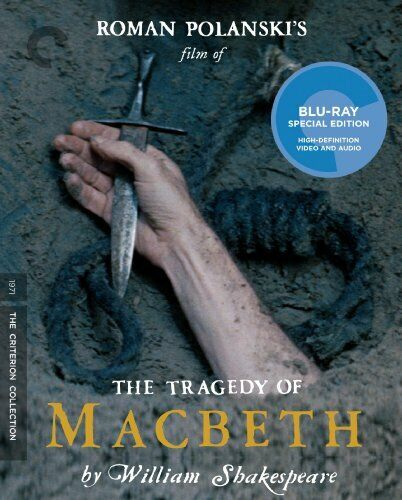 The Tragedy of Macbeth (1971 Jon Finch) (Criterion Collection, 4K) BLU-RAY NEW