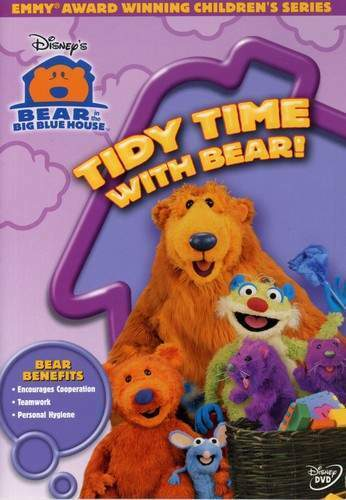 Bear in the Big Blue House: Tidy Time with Bear DVD NEW