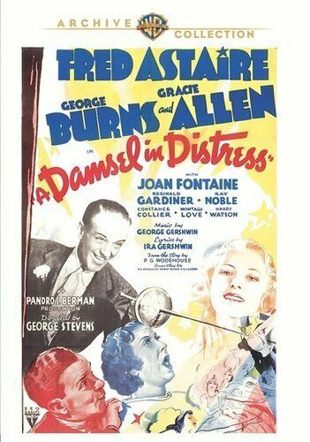 A Damsel in Distress (1937 Fred Astaire) DVD NEW