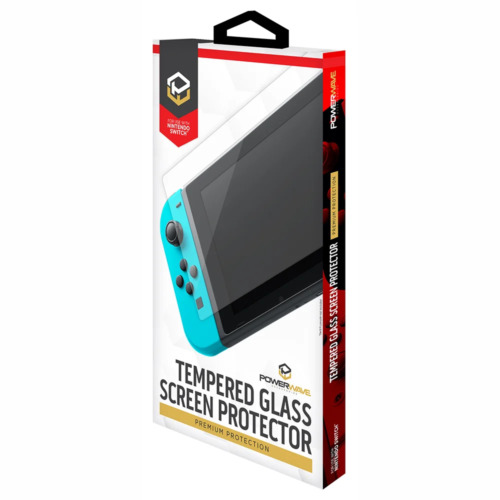 Powerwave Nintendo Switch Premium Tempered Glass Screen Protector NEW