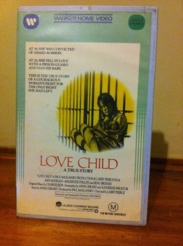 Love Child A true Story VHS cassette Warner brothers home video 1982 drama
