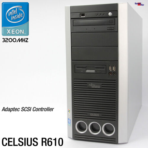 FSC Fujitsu Siemens Celsius R610 2GB Xeon Nvidia Geforce Computer Work Station