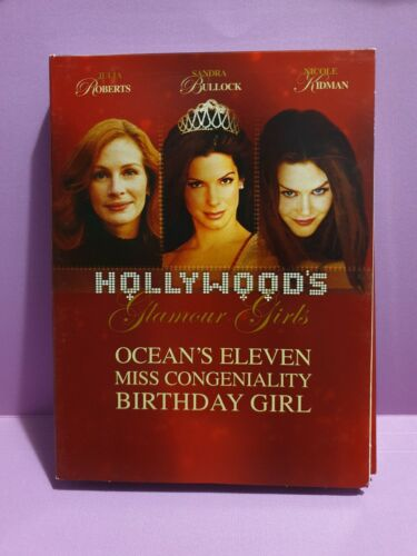 Hollywood's Glamour Girls 🎬 Ocean's Eleven Miss Congeniality -DVD 🎬 FREE POST