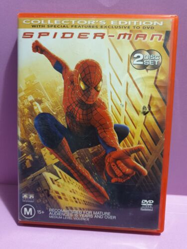 Spider-Man 🎬  Collector's Edition 2 Disc Set - DVD 🎬 FREE POST