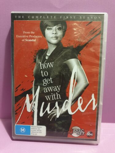 How To Get Away With Murder  🎬  THE Complete First Season - DVD 🎬 FREE POST