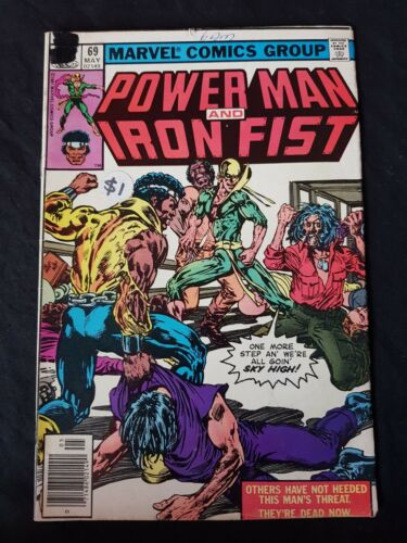 Marvel Comic Group Power Man and Iron Fist Vol 1 No 69 May 1981 Comic Book