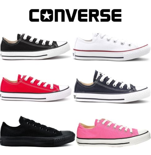 Converse Classic Chuck Taylor Low Trainer Sneaker All Star OX NEW sizes Shoes*** <br/> 100% AUTHENTIC + VALUE FOR MONEY + EASY RETURN TO UK!!!