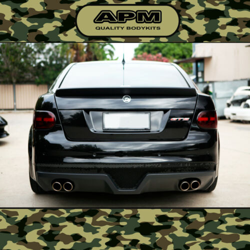 NEW MONKEY HOLDEN VE REAR BOOT SPOILER BOBTAIL WING SUIT E3 HSV CLUBSPORT/GTS <br/> PLASTIC MADE REAR SPOILER, SUIT 2010-2013