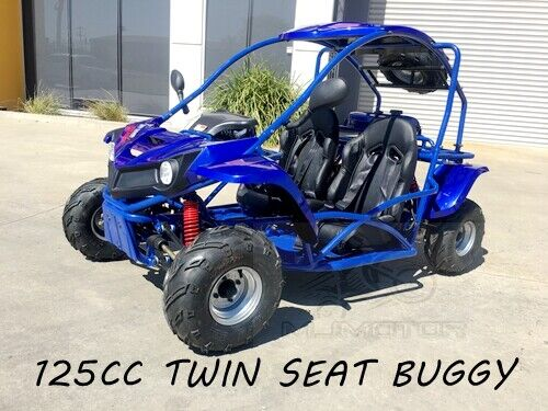 125CC SAHARA Offroad Dune Buggy Atv Quad Twin Seat Right-hand Drive 3FD With Rev <br/> Right-hand Drive,Twin Seats, Teens, Seat Belt 2019