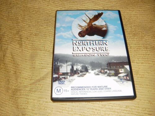 NORTHERN EXPOSIRE 2 Complete Second Season Two =2 DVD near NEW TV Show Series R4