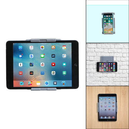 TFY Universal Kitchen Wall Mount for Tablets and Smartphones, Fits on Bathroom