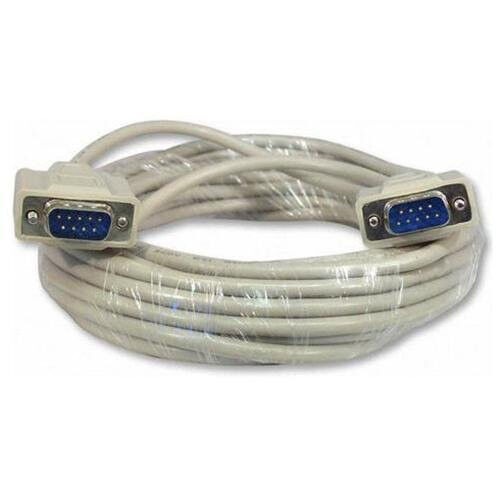 50Ft. DB9 Serial RS-232 Male to male Straight-Thru Cable (50 Feet) MEC-50MM