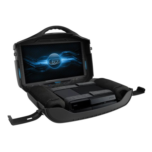 """GAEMS G190 Mobile Gaming & Entertainment Carry Case 19"""" 1080p HD Display"""