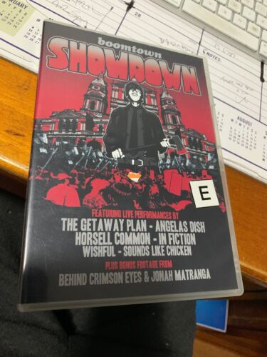 Boomtown Shawdow - DVD - Free Shipping. Good Condition.