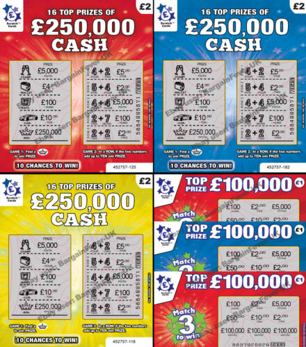 WORLD'S MOST REALISTIC - FAKE JOKE LOTTERY SCRATCH CARDS SCRATCHCARD TICKETS <br/> WARNING! Very Realistic-FREE SAME DAY EXPRESS SHIPPING