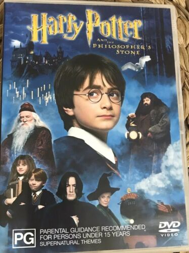Harry Potter and the Philosopher's Stone (DVD, 2002) - R4 (2 Disc Set)