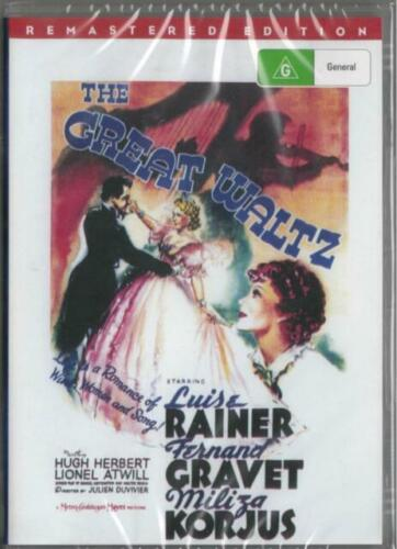 The Great Waltz DVD Luise Rainer Remastered New Sealed Australia All Regions