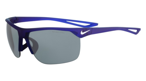 Occhiali da Sole Nike Autentici TRAINER EV0934 440 blu argento flash