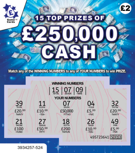 FAKE JOKE LOTTERY SCRATCH CARDS SCRATCHCARD TICKETS - Put one in a Birthday Card