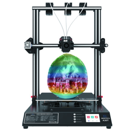 Geeetech 3D Printer KIT I3 Pro B print support 5 filaments Reprap Prusa I3