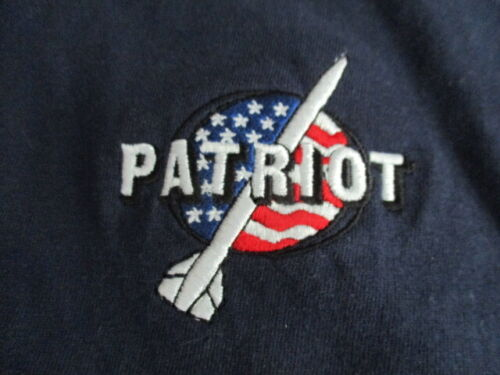 Vintage RAYTHEON - PATRIOT MISSILE Logo Embroidered (3XL) T-ShirtOther Militaria - 135