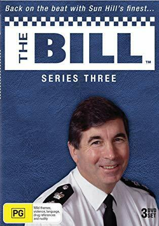 The Bill Series Season Three 3 1987, 3 Disc DVD set Genuine New Sealed All Regio