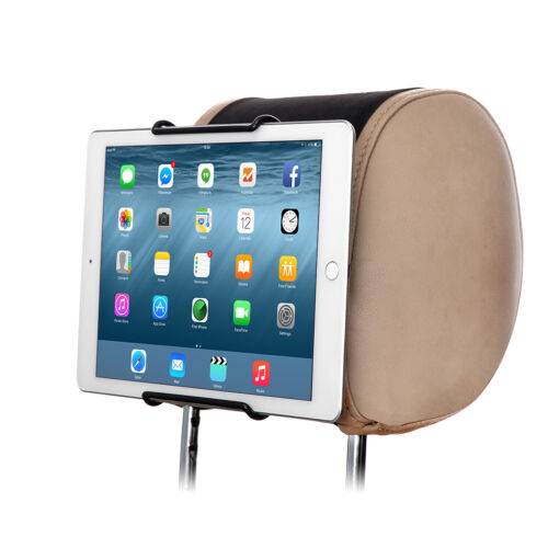 Car Headrest Mount for 7 Inch Tablet with Silicon Case and Androids Kids Tablets