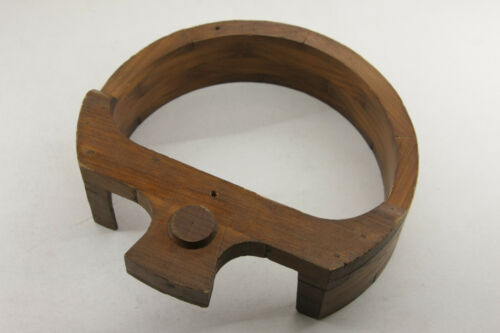 """Lamson Industrial Foundry Wood ~7.5"""" Gate Tension Machine Part Mold Pattern M56D"""