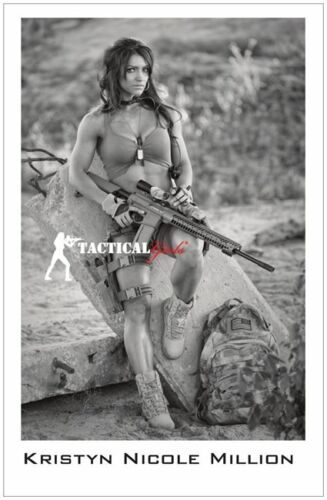Kristyn Million- Girls and Guns- Signed 11x17 PosterOther Militaria - 135