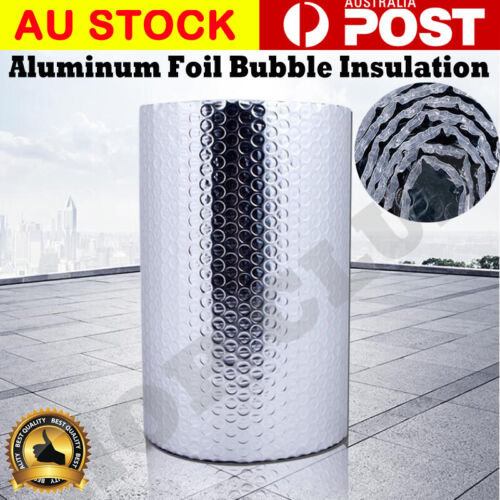 Premium Aluminium Air Bubble Cell Insulation Reflective Foil Heat Barrier Wall
