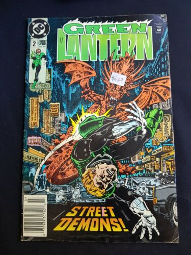 Green Lantern No 2 July 1990 Comic In Great Condition