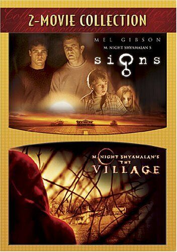 Signs (2002) / The Village (2004) (2 Disc) DVD NEW