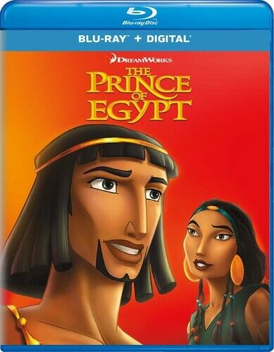 The Prince of Egypt (1998 Animated) BLU-RAY NEW