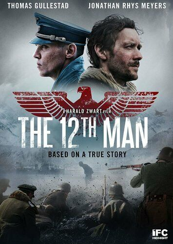 The 12th Man (2017) DVD NEW