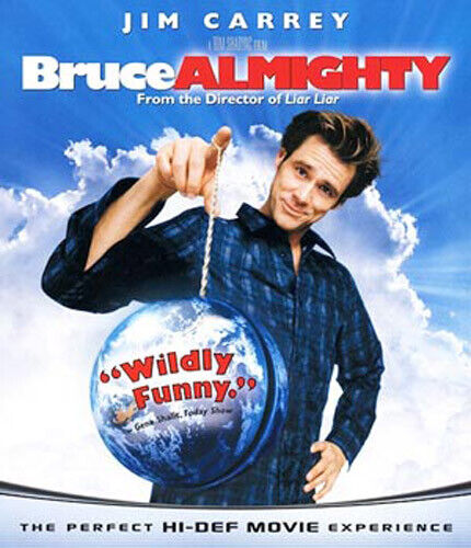 Bruce Almighty BLU-RAY NEW