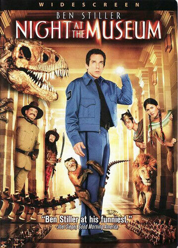 Night at the Museum DVD NEW