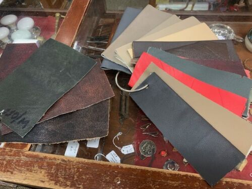Chesterfield Leather Sample Swatches
