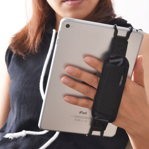 TFY Tablet Security Hand Strap Holder for iPad, Samsung Tab and Other Tablets