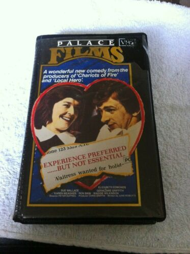 Experience Preferred but not essential VHS Palace Films comedy no DVD HTF tape
