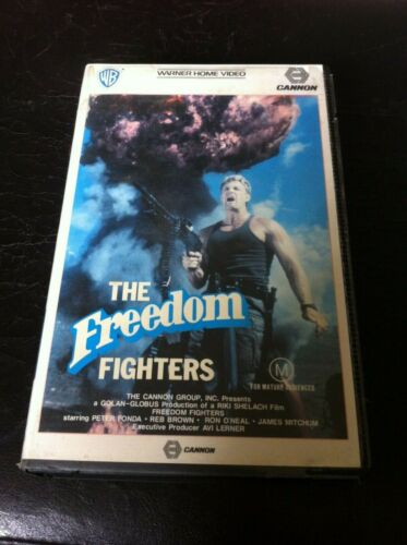 The Freedom Mercenary Fighters VHS Cannon Warner Brothers Ex-rental Video tape