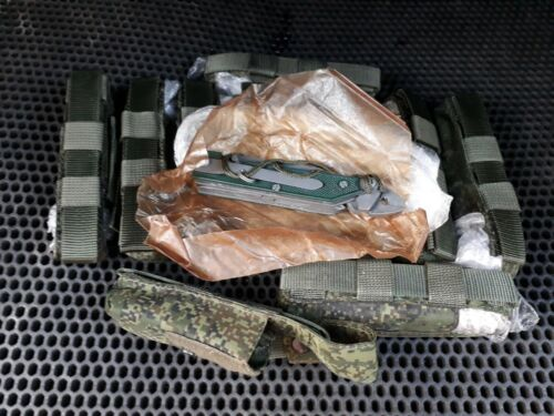 RUSSIAN ARMY MULTITOOL KNIFE 6E6 Ratnik + POUCH in EMR DIGITAL FLORA ORIGINALOther Current Field Gear - 36071