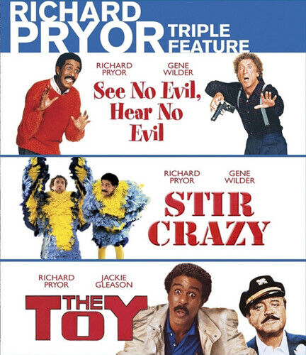See No Evil, Hear No Evil / Stir Crazy / The Toy (1982) (3 Disc) BLU-RAY NEW