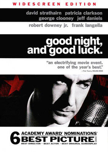 Good Night and Good Luck DVD NEW
