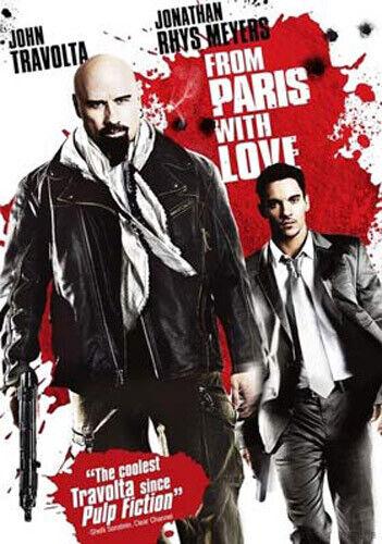 From Paris with Love DVD NEW
