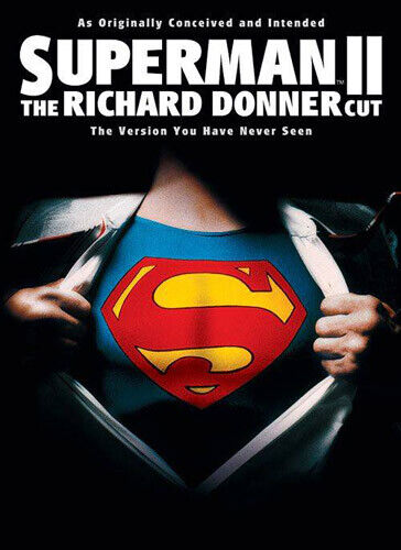 Superman 2: The Richard Donner Cut (1980 Christopher Reeve) DVD NEW